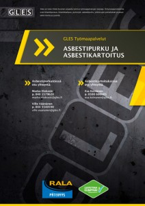 Gles asbestipurku ja asbestikartoitus