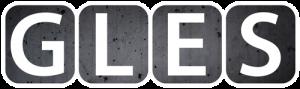 GLES logo betonitausta