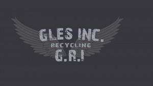 GLES recycling logo