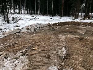 Metsäautotien rakennus