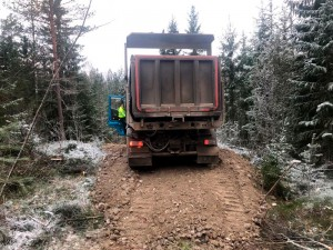 Gles Rock toimitus ja tien teko