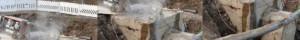Vaijerisahaus Hilti timanttivaijerisahalla