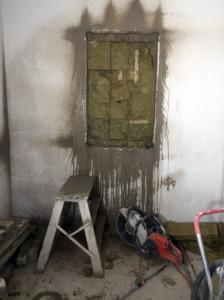 Aukko seinään invertterisahalla