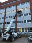 Saneerauspurkutyö Vantaalla