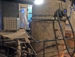 Säiliön asbestipurku