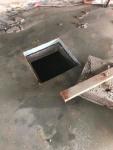 Luukun sahaus lattiaan