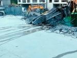 Betonin pulverointi