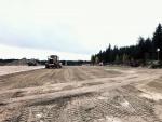 Betonia asfalttikentän pohjana