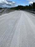Sillan jyrsintää 1600m2