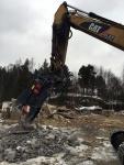 Teollisuusrakennuksen pulverointi