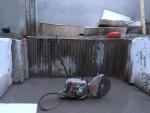 Seinän viipalointia